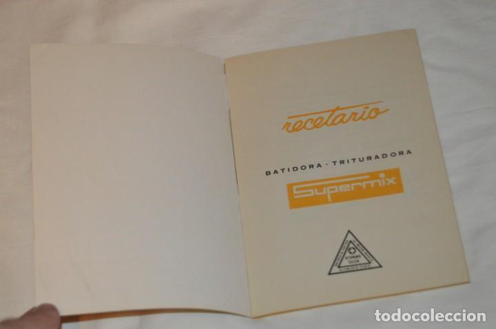 Libros de segunda mano: VINTAGE Y ANTIGUO - RECETARIO SUPERMIX DE BATERIA DE COCINA HISPANO SUIZA - ¡Mira fotos! - Foto 6 - 157455994
