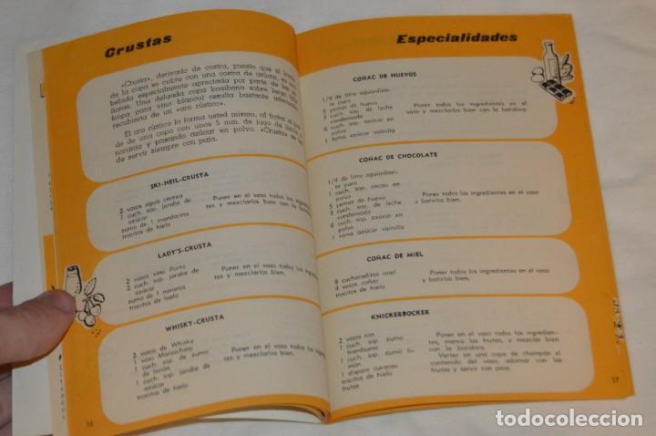 Libros de segunda mano: VINTAGE Y ANTIGUO - RECETARIO SUPERMIX DE BATERIA DE COCINA HISPANO SUIZA - ¡Mira fotos! - Foto 8 - 157455994