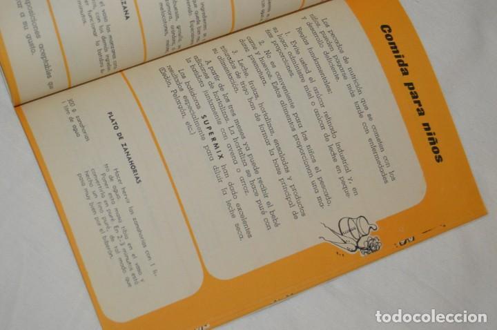 Libros de segunda mano: VINTAGE Y ANTIGUO - RECETARIO SUPERMIX DE BATERIA DE COCINA HISPANO SUIZA - ¡Mira fotos! - Foto 9 - 157455994