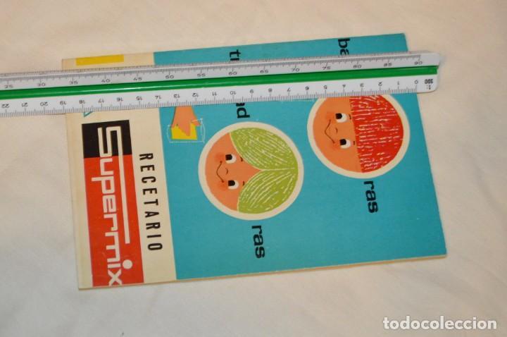 Libros de segunda mano: VINTAGE Y ANTIGUO - RECETARIO SUPERMIX DE BATERIA DE COCINA HISPANO SUIZA - ¡Mira fotos! - Foto 10 - 157455994