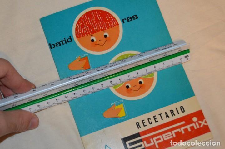 Libros de segunda mano: VINTAGE Y ANTIGUO - RECETARIO SUPERMIX DE BATERIA DE COCINA HISPANO SUIZA - ¡Mira fotos! - Foto 11 - 157455994