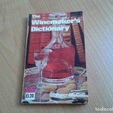 Libros de segunda mano: THE WINEMAKER´S DICTIONARY -- PETER MCCALL -- VINOAW, 1974. Lote 158221498