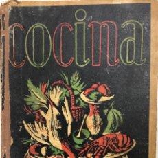 Libros de segunda mano: MANUAL DE COCINA. RECETARIO. ANA MARIA HERRERA. 7ª EDICION. MADRID 1957. PAGS 770.. Lote 158655862
