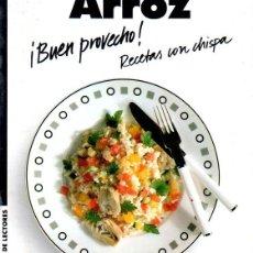 Libros de segunda mano: ARROZ. BUEN PROVECHO. RECETAS CON CHISPA. SABINE SÄLTER. 1993.. Lote 158676114