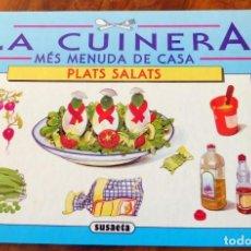 Libros de segunda mano: LLIBRE - LA CUINERA - PLATS SALATS - SUSAETA - . Lote 158723582