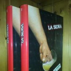 Libros de segunda mano - LA SIDRA, JOSE URIA IRASTORZA, SENDOA ARGITALDARIA,1987, ESTUDIO INFORME EL TXAKOLI, PAIS VASCO - 159164454
