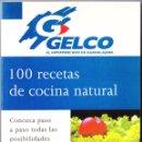 Libros de segunda mano: GELCO HIPERMERCADO DE GUADALAJARA - 100 RECETAS DE COCINA NATURAL - PLAZA JANES 1995. Lote 159993630