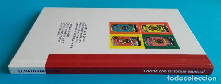 Libros de segunda mano: COCINA CON TU TOQUE ESPECIAL. 75 APETITOSAS RECETAS CON LEVADURA ROYAL. 2007. - Foto 6 - 161263618