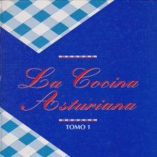 Libros de segunda mano: LA COCINA ASTURIANA. 2 TOMOS. Lote 162800858