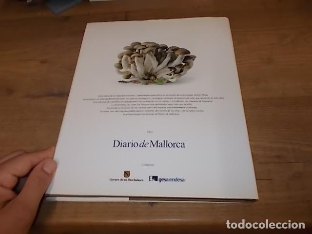 Libros de segunda mano: COCINANDO CON SETAS EN MALLORCA .TOMO II. ANTONI PINYA. DIARIO DE MALLORCA. 1ª EDICIÓN 2008. - Foto 23 - 164120614