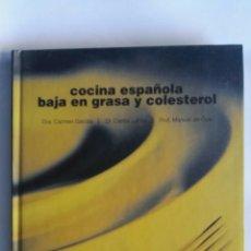 Libros de segunda mano: COCINA ESPAÑOLA BAJA EN GRASA Y COLESTEROL. Lote 164626400