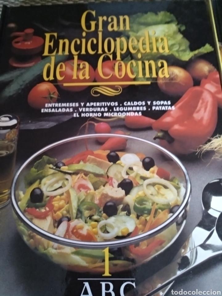 Libros de segunda mano: Gran enciclopedia de la cocina. ABC, 1994 - Foto 2 - 164745481