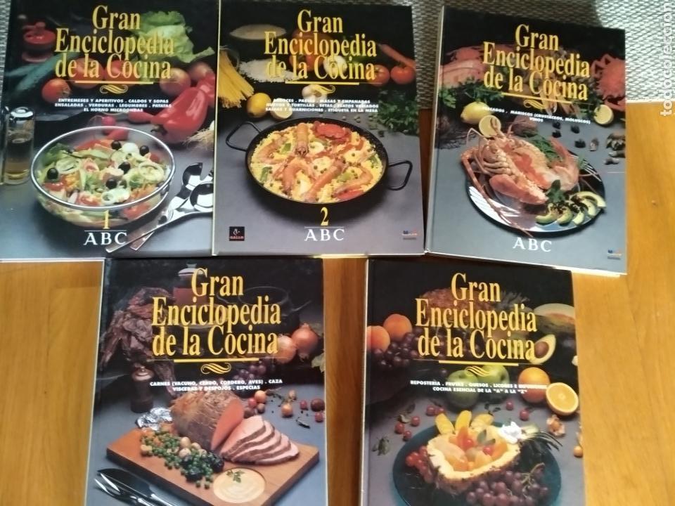 GRAN ENCICLOPEDIA DE LA COCINA. ABC, 1994 (Libros de Segunda Mano - Cocina y Gastronomía)