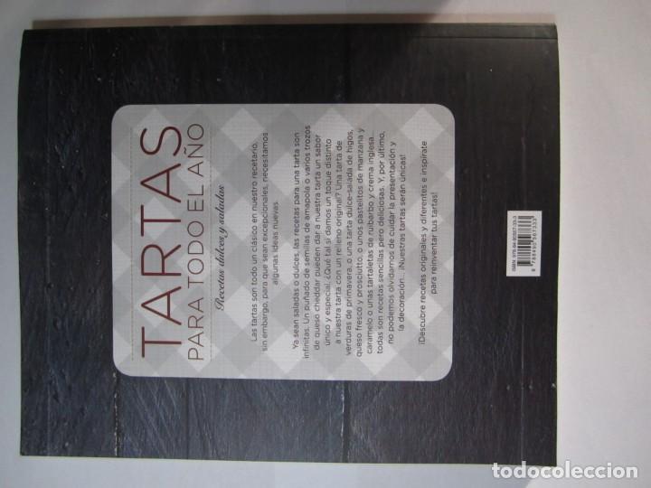 Libros de segunda mano: libro tartas para todo el año recetas dulces y saladas virgine garnier - Foto 2 - 165138702