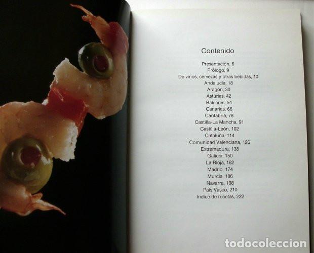 Libros de segunda mano: El libro de oro de las tapas de España - Foto 2 - 165243018