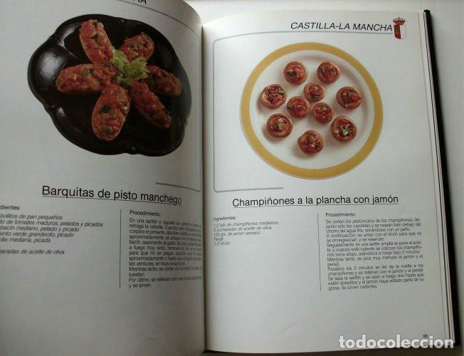 Libros de segunda mano: El libro de oro de las tapas de España - Foto 3 - 165243018