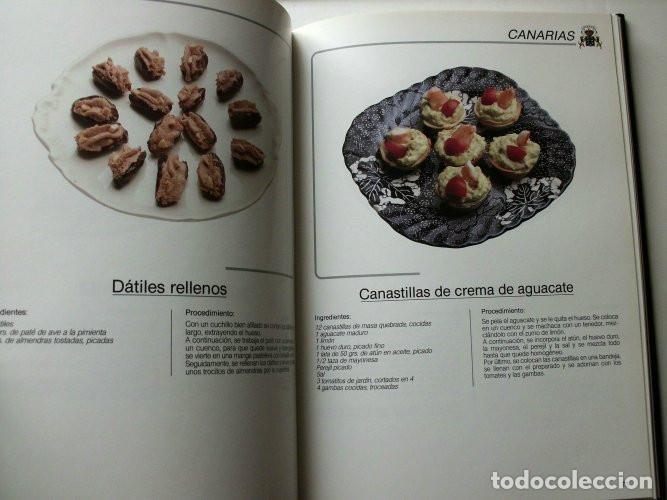Libros de segunda mano: El libro de oro de las tapas de España - Foto 4 - 165243018