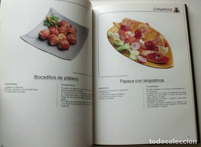 Libros de segunda mano: El libro de oro de las tapas de España - Foto 5 - 165243018