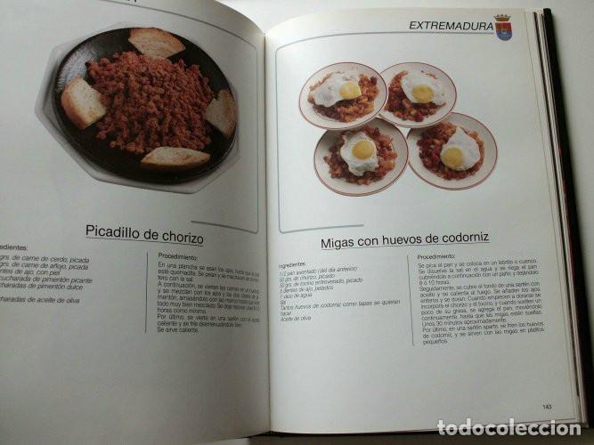 Libros de segunda mano: El libro de oro de las tapas de España - Foto 7 - 165243018