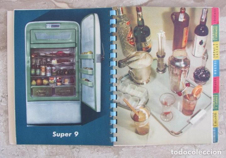 Libros de segunda mano: Frimotor frigoríficos Westinghouse Un nuevo arte de comer catálogo libro cocina recetas Bilbao1958 - Foto 3 - 165313354