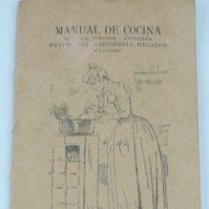 Libros de segunda mano: MANUAL DE COCINA ESPAÑOLA, FRANCESA Y AMERICANA, PASTELERIA, REPOSTERIA, HELADOS Y LICORES, IMPENTA . Lote 165444854