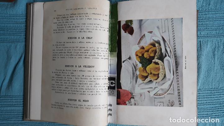 Libros de segunda mano: RECETARIO DE COCINA RESPOSTERIA Y PASTELERIA IGARASHI POR SINJI IGARASHI 1958 BUENOS AIRES - Foto 7 - 165604998