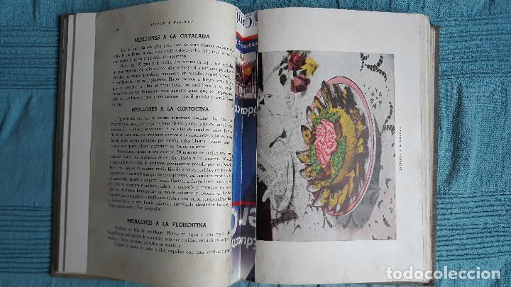 Libros de segunda mano: RECETARIO DE COCINA RESPOSTERIA Y PASTELERIA IGARASHI POR SINJI IGARASHI 1958 BUENOS AIRES - Foto 8 - 165604998