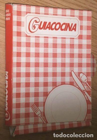 CARPETA 7 GUÍAS DE COCINA MENÚ SEMANAL DE EDICIONES MONTENA EN BARCELONA 1982-1984 (Libros de Segunda Mano - Cocina y Gastronomía)