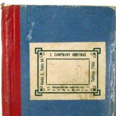 Libros de segunda mano: LIBRETA AUTÒGRAFA - AÑOS 50. Lote 166357726