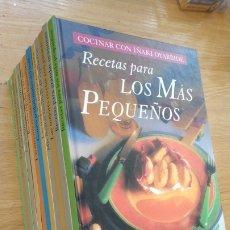 Libros de segunda mano: LIBROS DE COCINA - COCINAR CON IÑAKI OYARBIDE - INCLUYE COCINAR CON SETAS. Lote 167242522
