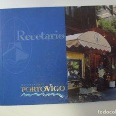 Libros de segunda mano: RECETARIO RESTAURANTE PORTOVIGO. LAS PALMAS DE GRAN CANARIA.. Lote 167784196