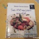 Libros de segunda mano: BUSCADISIMO Y DIFICIL TOMO MESTRE TOMEU ESTEVA SUS 100 MEJORES RECETAS 2010. Lote 167917236