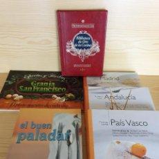 Libros de segunda mano: LOTE 6 LIBROS DE COCINA VARIADOS - LEER TÍTULOS - GASTRONOMÍA. Lote 169052556