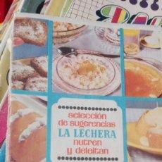 Libros de segunda mano: SELECCION DE SUGERENCIAS LA LECHERA. Lote 170070564