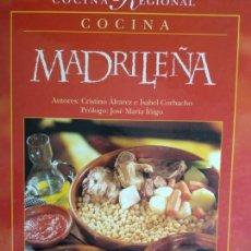 Libros de segunda mano: COCINA REGIONAL -- COCINA MADRILEÑA . Lote 170210100