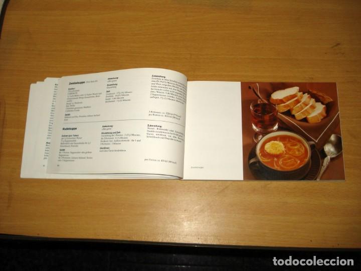 Libros de segunda mano: MICROONDAS - LA NUEVA FORMA DE COCINAR / RECETAS Y CONSEJOS. ED Siemens AG (Alemania). 1981. ALEMÁN. - Foto 4 - 171168845