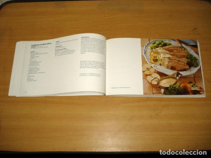Libros de segunda mano: MICROONDAS - LA NUEVA FORMA DE COCINAR / RECETAS Y CONSEJOS. ED Siemens AG (Alemania). 1981. ALEMÁN. - Foto 5 - 171168845