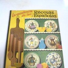 Libros de segunda mano: LA EXCELENCIA DE LAS RECETAS ESPAÑOLAS. GALLETAS ARTIACH. 5º EDICION. BILBAO. 56 PAGINAS . Lote 171556984