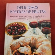 Libros de segunda mano: DELICIOSOS POSTRES DE FRUTAS (EDIMAT LIBROS). Lote 171600393
