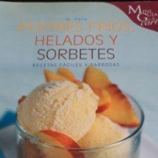 Libros de segunda mano: LOTE LIBROS DE COCINA, POSTRES HELADOS. Lote 171714082