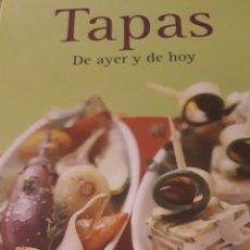Libros de segunda mano: TAPAS DE AYER Y DE HOY. Lote 171774720