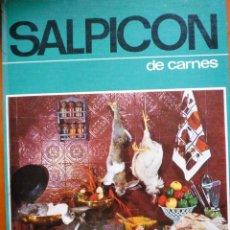 Libros de segunda mano: SALPICON DE CARNES. Lote 172051443