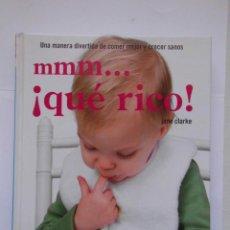 Libros de segunda mano: MMM...¡QUE RICO!. JANE CLARKE. 2008. DEBIBL. Lote 172092692