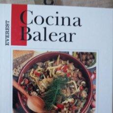 Libros de segunda mano: COCINA BALEAR (COCINA REGIONAL ESPAÑOLA) JUAN DE CORRAL CATY. Lote 172322328
