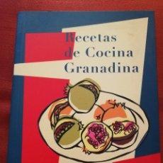 Libros de segunda mano: RECETAS DE COCINA GRANADINA (DIPUTACIÓN DE GRANADA) 3ª EDICIÓN, 2004. Lote 172350964
