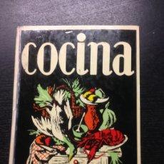 Libros de segunda mano: MANUAL DE COCINA, RECETARIO, DELEGACION NACIONAL DE LA SECCION FEMENINA, 1977. Lote 172604929