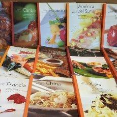 Libros de segunda mano: COLECCIÓN LAS COCINAS DEL MUNDO. 15 TOMOS / COMPLETA!! NUEVA Y PERFECTA. OCASIÓN !!. Lote 172693985