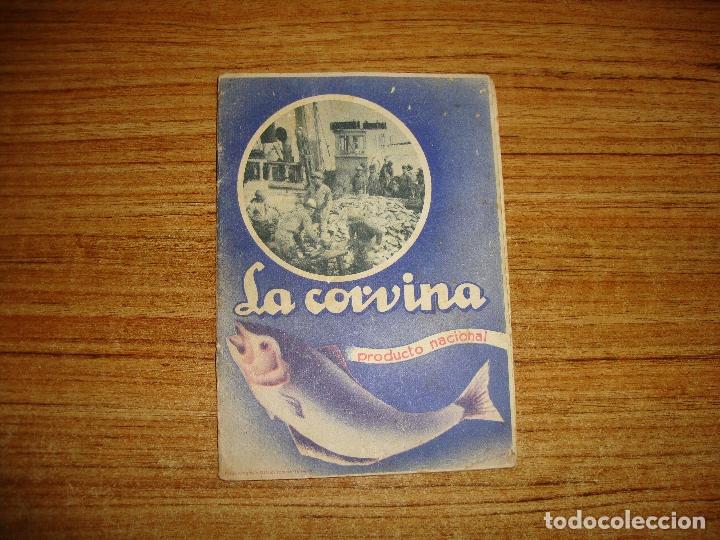 (ALB-TC-105) ANTIGUO LIBRO COCINA LA CORVINA PRODUCTO NACIONAL COMO SUSTITUTIVO DEL BACALAO (Libros de Segunda Mano - Cocina y Gastronomía)