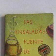 Libros de segunda mano: LAS ENSALADAS FUENTE DE BIENESTAR. Lote 174047812