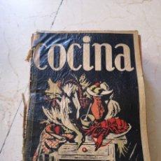 Libros de segunda mano: MANUAL DE COCINA DE LA SECCIÓN FEMENINA 1967. Lote 174078709